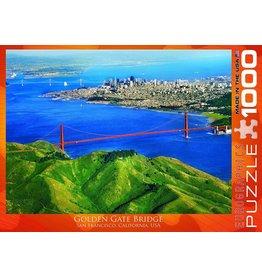EUROGRAPHICS GOLDEN GATE BRIDGE SF 1000PC