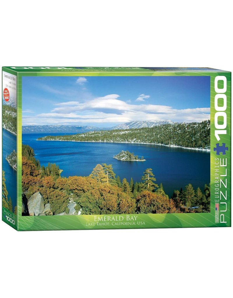 EUROGRAPHICS Emerald Bay - Lake Tahoe, CA 1000PC