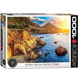 EUROGRAPHICS Sunset on the Pacific Coast 1000PC
