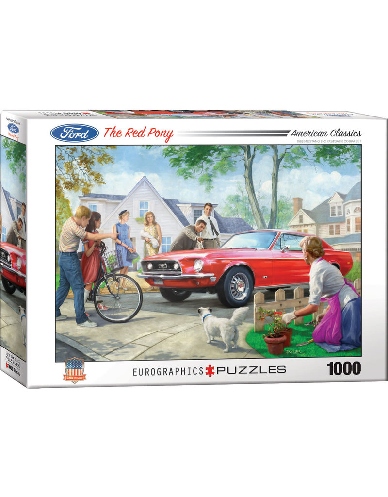 EUROGRAPHICS The Red Pony 1000pc