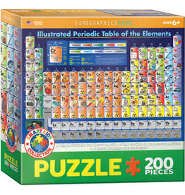 EUROGRAPHICS Illustrated Periodic Table of Elements 200PC