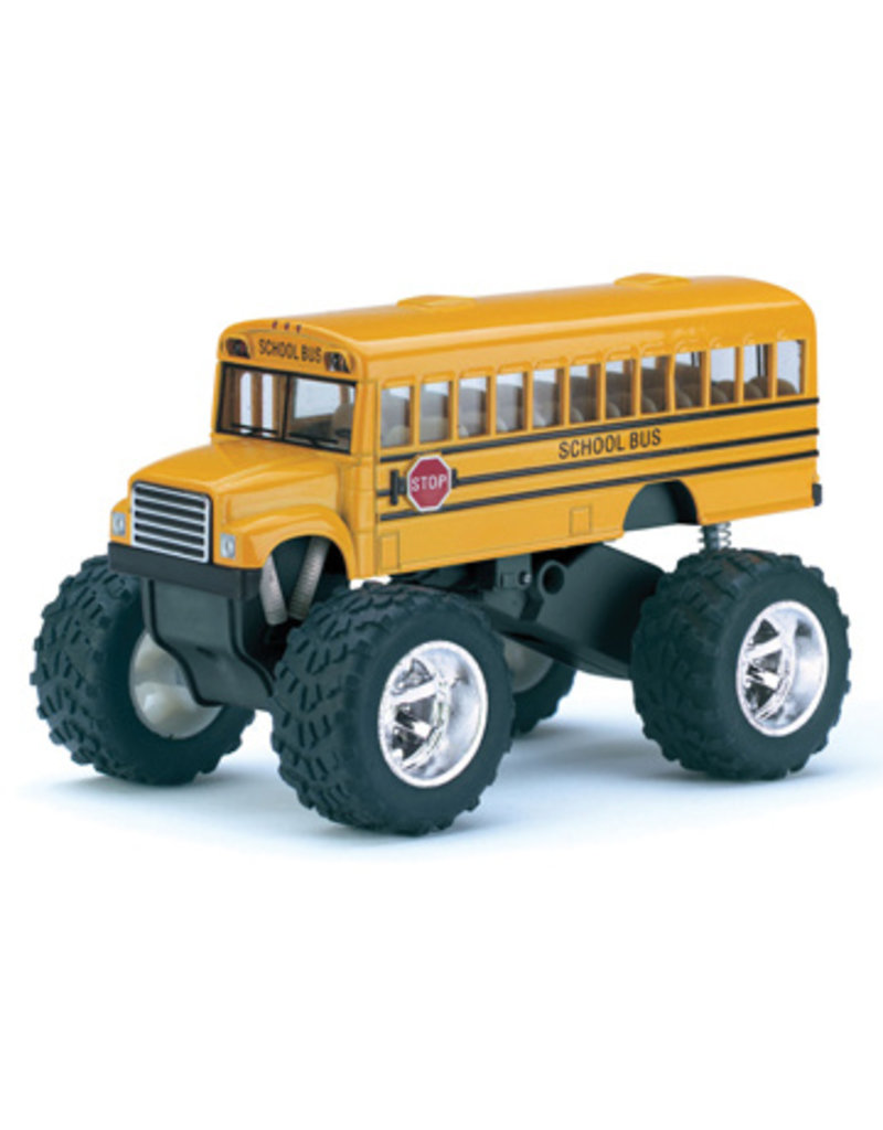 SCHYLLING Die-Cast Big Wheel School Bus