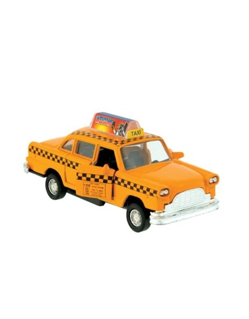 SCHYLLING Die-Cast Taxi, Pull-Back