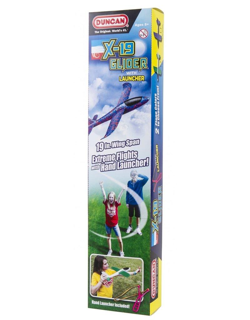 DUNCAN X-19 Glider w/hand launcher
