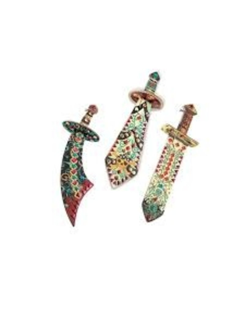 DJECO PIRATE MOSAIC SWORDS