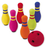 INTERNATIONAL PLAYTHINGS 6 PIN BOWLING SET