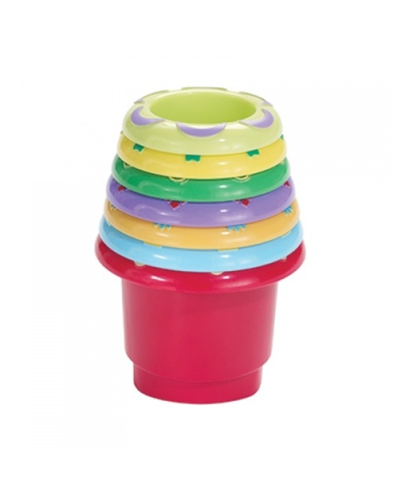 INTERNATIONAL PLAYTHINGS STACK N NEST CUPS