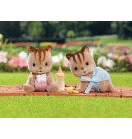INTERNATIONAL PLAYTHINGS Hazelnut Chipmunk Twins