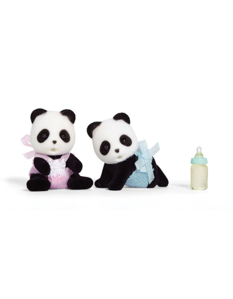 INTERNATIONAL PLAYTHINGS Wilder Panda Bear Twins