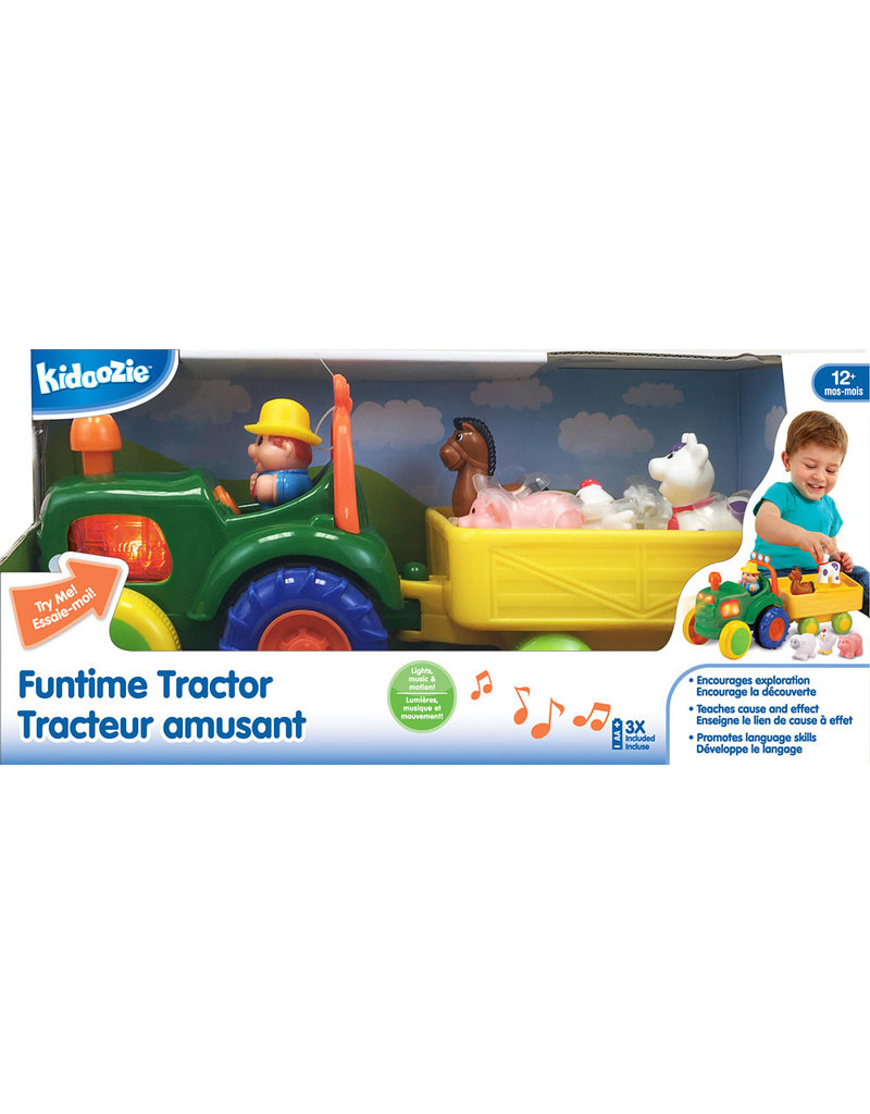 INTERNATIONAL PLAYTHINGS FUNTIME TRACTOR