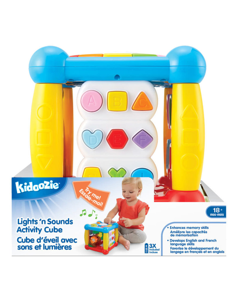 INTERNATIONAL PLAYTHINGS Lights 'n Sounds Activity Cube