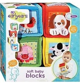 INTERNATIONAL PLAYTHINGS Soft Baby Blocks