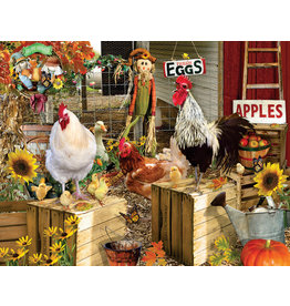 R & M DIST CHICKENS ON THE FARM 1000PC