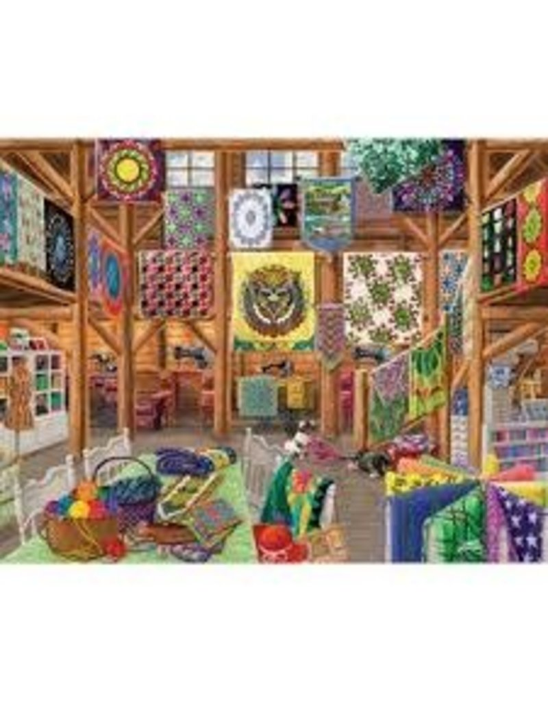R & M DIST QUILTED WITH LOVE 1000PC
