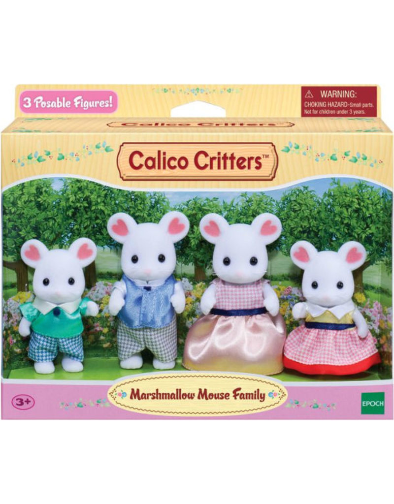 INTERNATIONAL PLAYTHINGS CC MARSHMELLOW MOUSE FAMILY