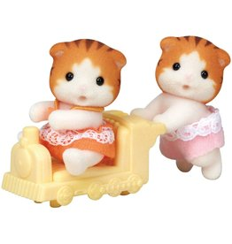 INTERNATIONAL PLAYTHINGS CC MAPLE CAT  TWINS