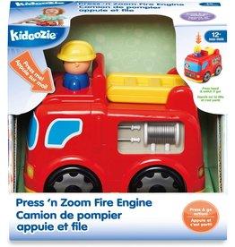 INTERNATIONAL PLAYTHINGS Press 'n Zoom Fire Engine