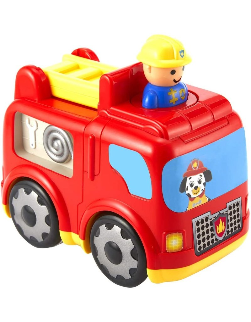 INTERNATIONAL PLAYTHINGS Press 'n Zoom Fire Engine