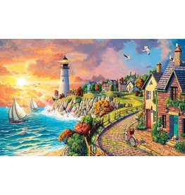 R & M DIST LIGHTHOUSE BY THE SEA 500PC