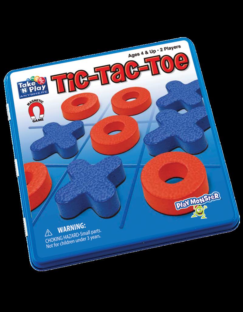 PLAYMONSTER Tic-Tac-Toe magnetic