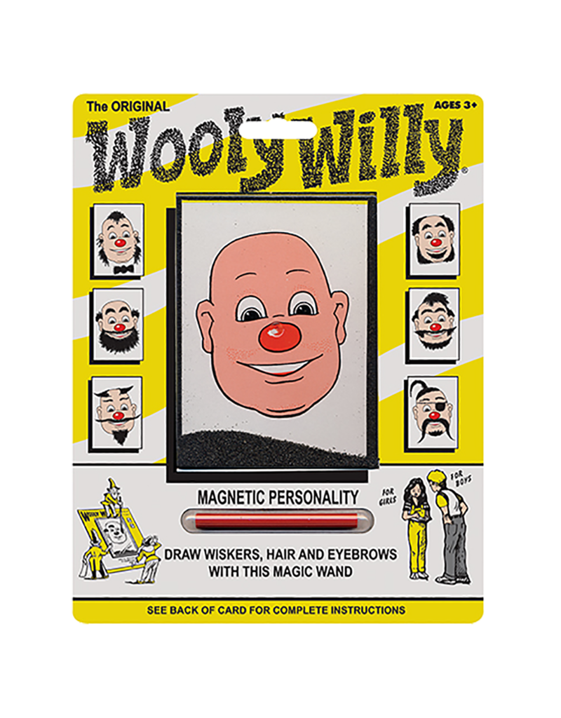 PLAYMONSTER ORIGINAL WOOLY WILLY  4+