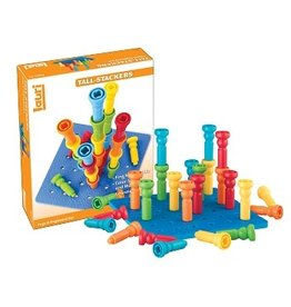 PLAYMONSTER TALL STACKER PEGS & BOARD 2+
