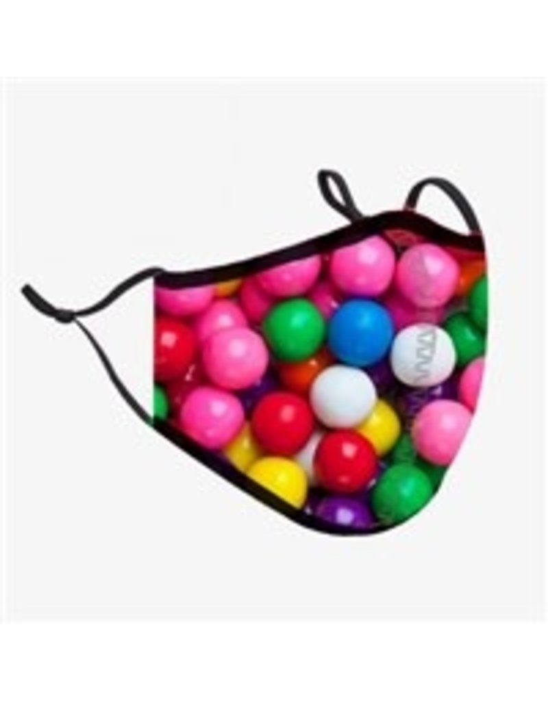 TOP TRENDS GUMBALL MASK CHILDRENS 3-7 YRS