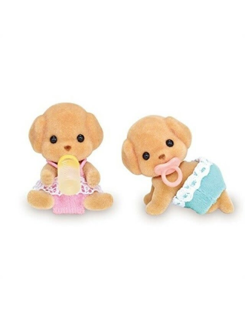 INTERNATIONAL PLAYTHINGS Toy Poodle Twins