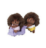 INTERNATIONAL PLAYTHINGS CC HEDGEHOG TWINS