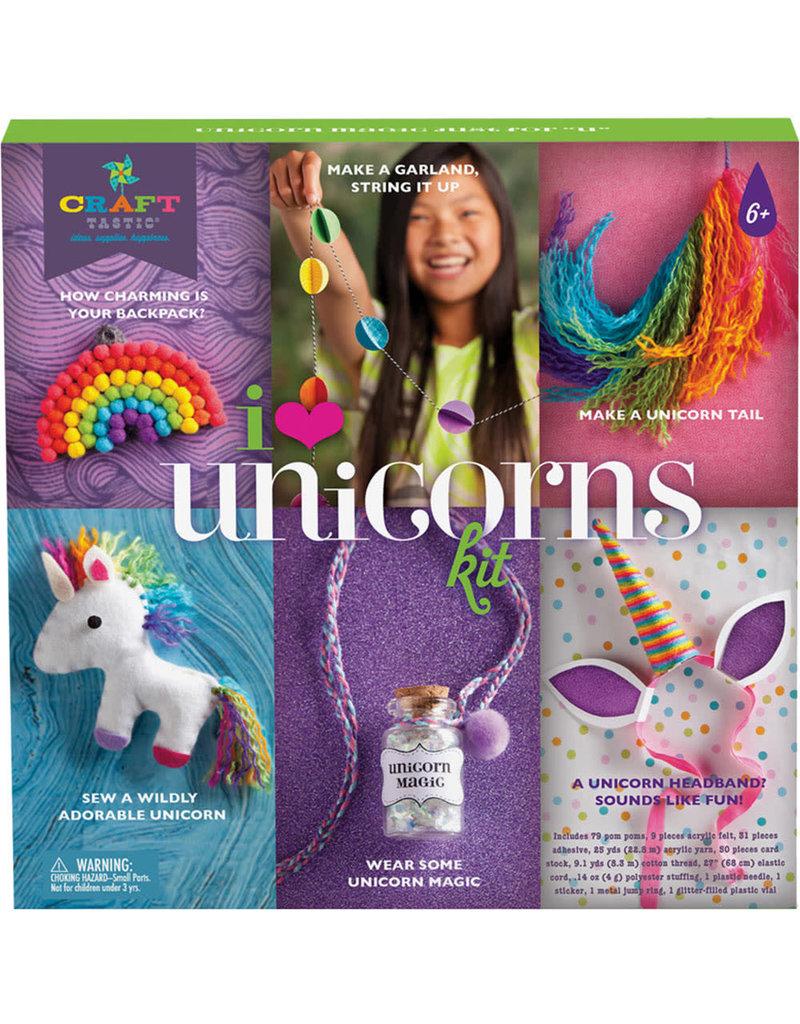 ANN WILLIAMS Craft-tastic I Love Unicorns Kit