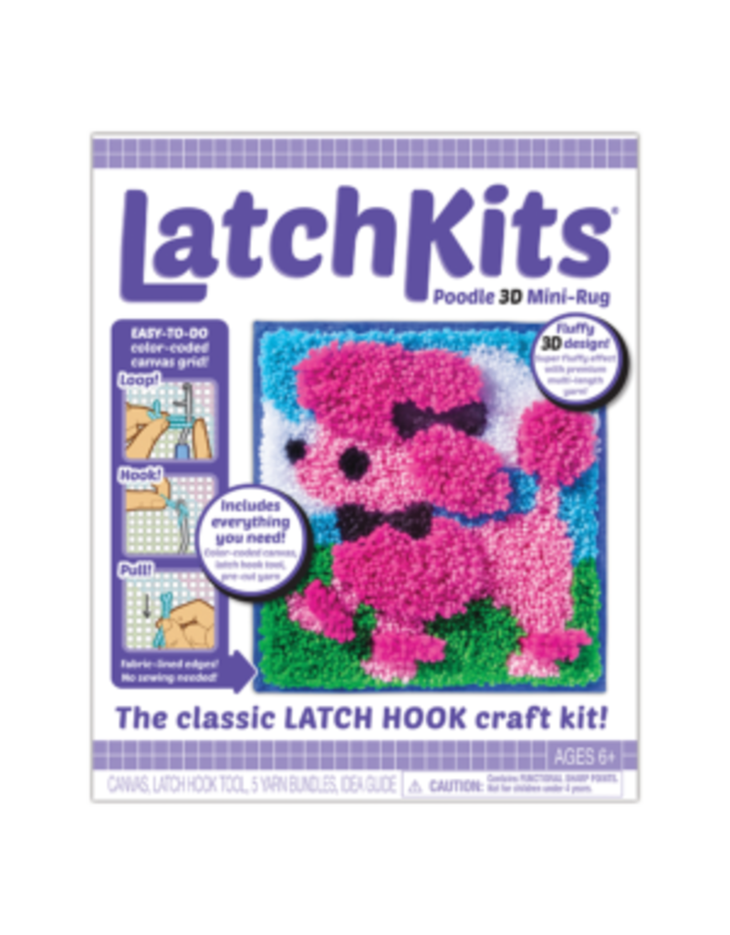 PLAYMONSTER POODLE 3D LATCH KIT