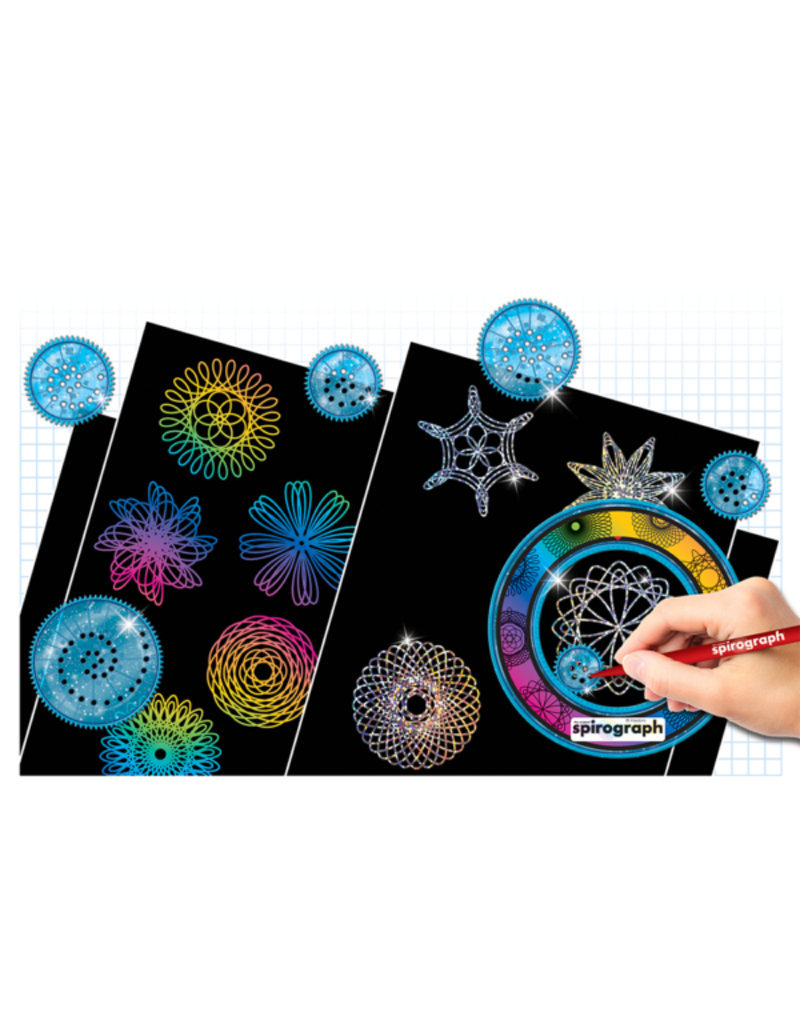 PLAYMONSTER SCRATCH AND SHIMMER SPIROGRAPH