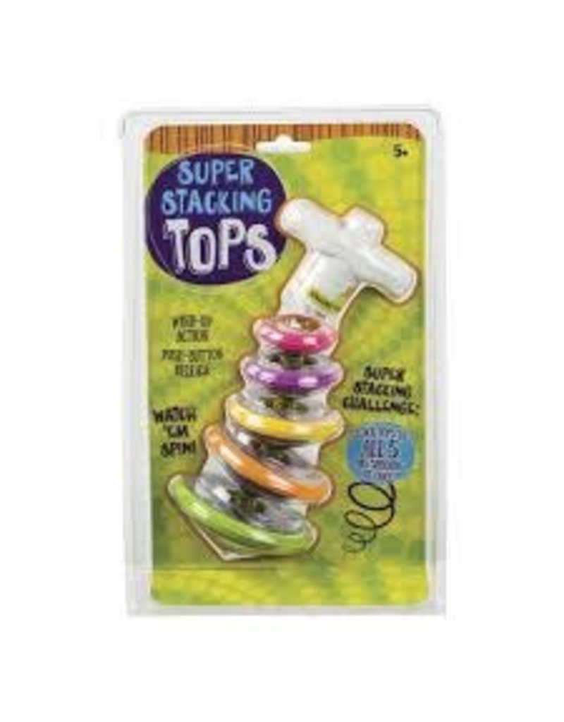 TOYSMITH SUPER STACKING TOPS (12)