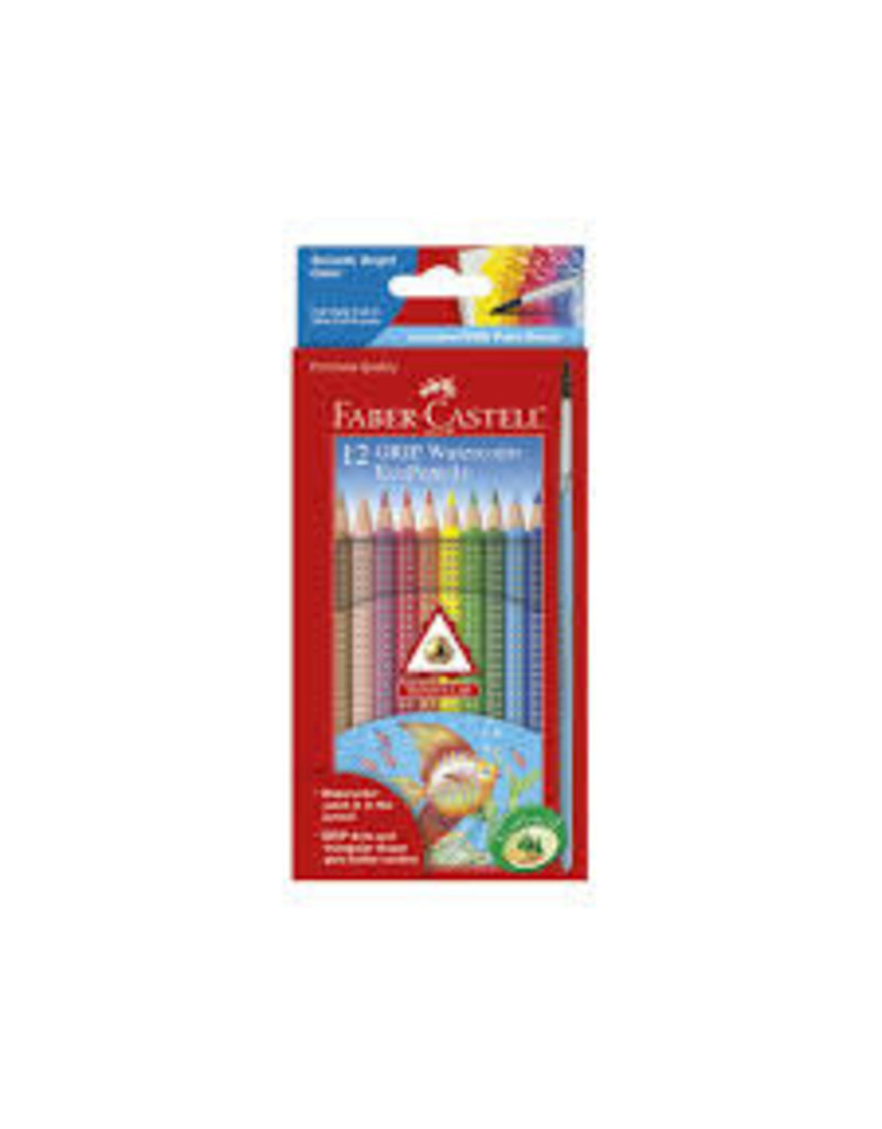 CREATIVITY FOR KIDS 12CT GRIP WATERCOLOR PENCILS