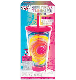 FASHION ANGELS NEON TIE DYE TUMBLER KIT