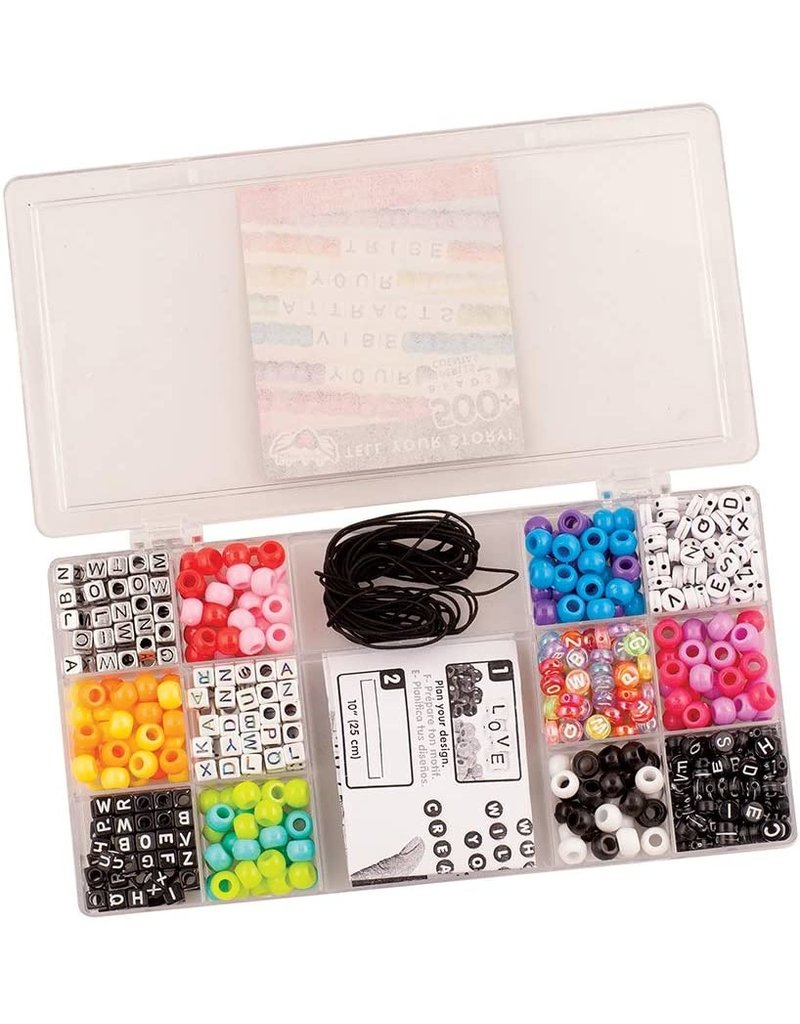 FASHION ANGELS Small Tell Your Story Alphabet Bead Case-Small