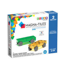 VALTECH Magna-Tiles Cars 2 Piece Expansion Set -
