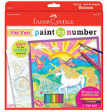 CREATIVITY FOR KIDS PAINT BY NUMBER FOIL UNICORN