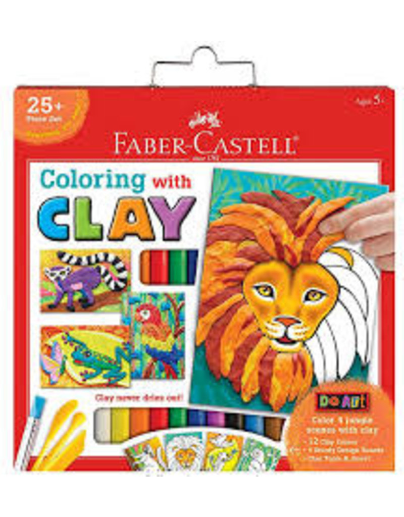 CREATIVITY FOR KIDS COLORING WITH CLAY