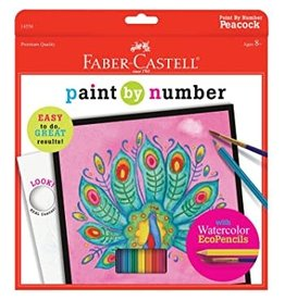 CREATIVITY FOR KIDS Paint By Number Peacock