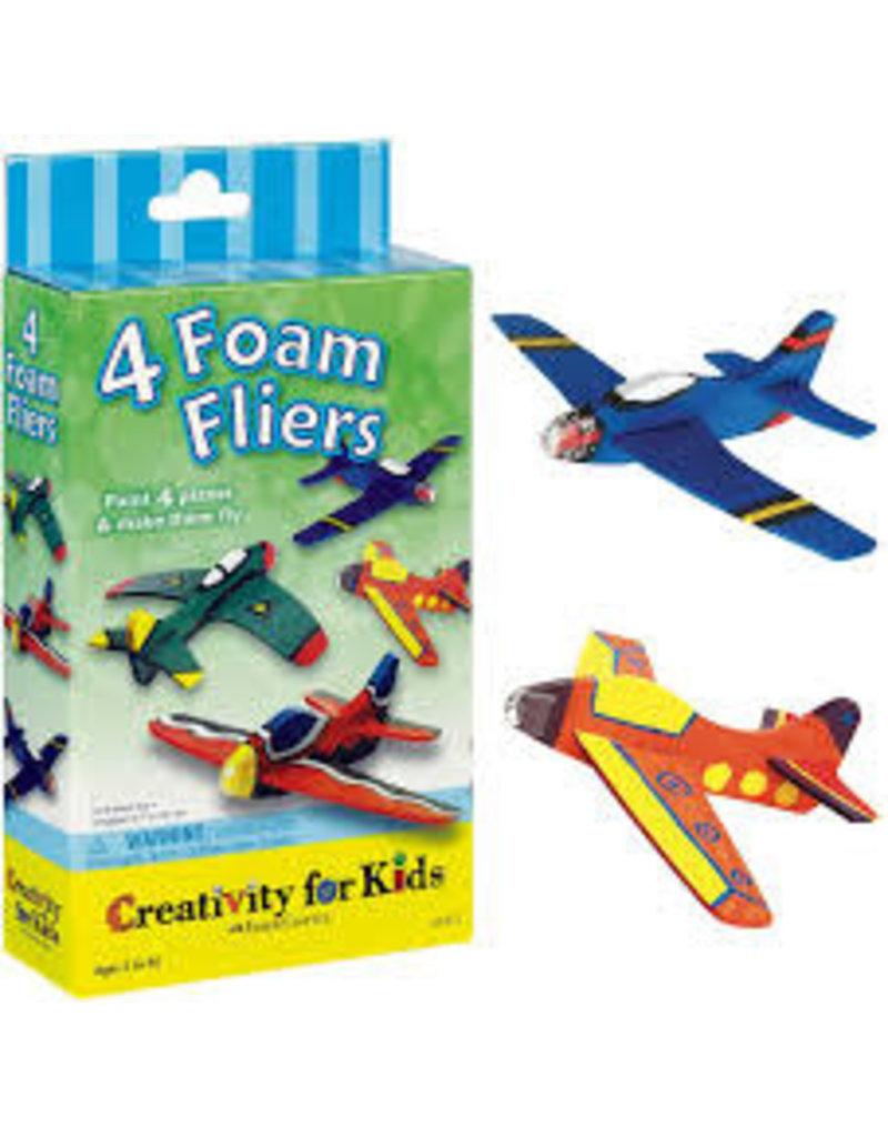 CREATIVITY FOR KIDS 4 FOAM FLYERS