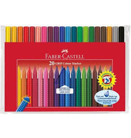 CREATIVITY FOR KIDS 20ct GRIP Color Markers
