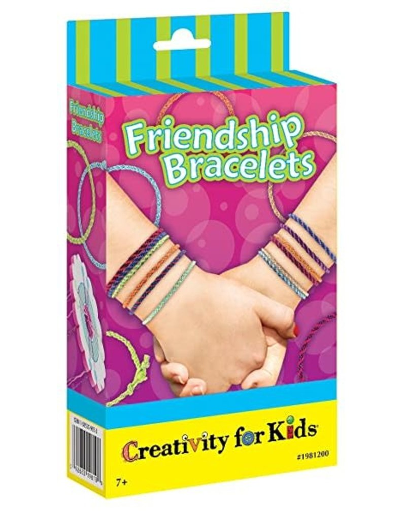 CREATIVITY FOR KIDS Friendship Bracelets