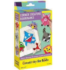 CREATIVITY FOR KIDS Corner Creature Bookmarks