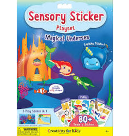 CREATIVITY FOR KIDS UNDERSEA SENSORY STICKER PLAYSET
