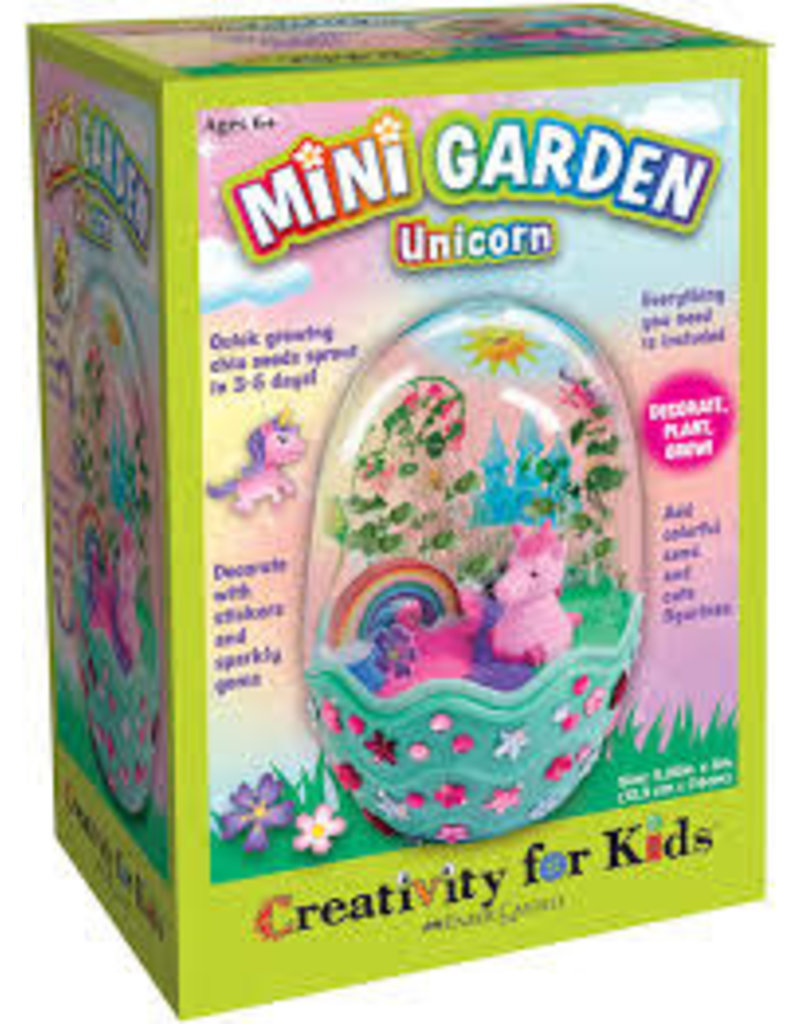 CREATIVITY FOR KIDS UNICORN MINI GARDEN