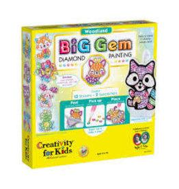 CREATIVITY FOR KIDS WOODLAND BIG GEM