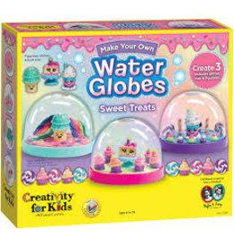 CREATIVITY FOR KIDS SWEET TREATS WATER GLOBES