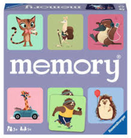 RAVENSBURGER memory Wild World of Animals