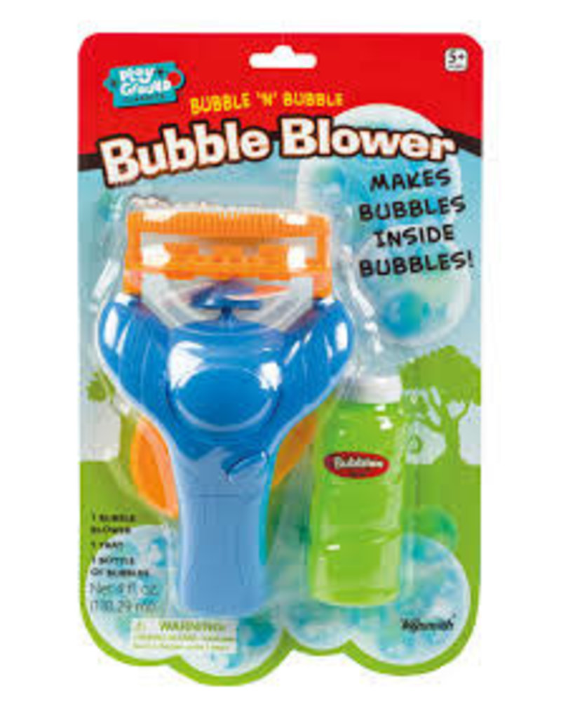 TOYSMITH Bubble N Bubble Blower